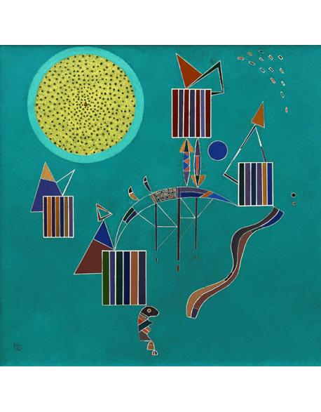 Reprodukcje obrazów Wassily Kandinsky An intimate party