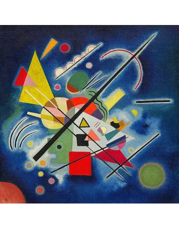 Reprodukcje obrazów Blue Painting - Wassily Kandinsky