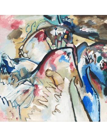 Reprodukcje obrazów Improvisation 21 - Wassily Kandinsky