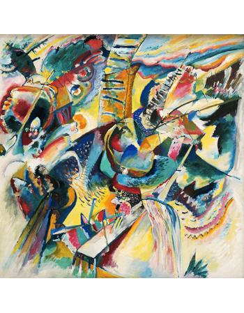 Reprodukcje obrazów Wassily Kandinsky Improvisation Gorge