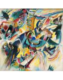 Reprodukcje obrazów Improvisation Gorge - Wassily Kandinsky