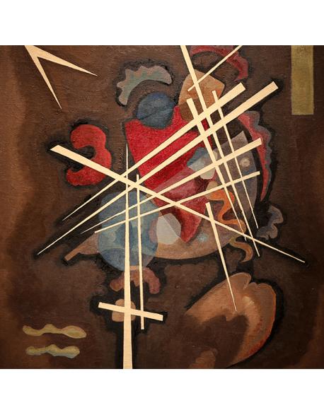 Reprodukcje obrazów Wassily Kandinsky Lattice form