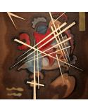 Reprodukcje obrazów Lattice form - Wassily Kandinsky