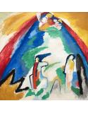 Reprodukcje obrazów Mountain - Wassily Kandinsky