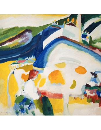 Reprodukcje obrazów Wassily Kandinsky The cow