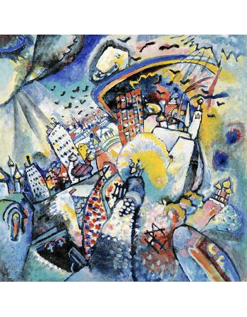 Reprodukcje obrazów Wassily Kandinsky Red Square in Moscow