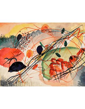 Reprodukcje obrazów Wassily Kandinsky Aquarell 6