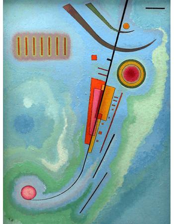 Reprodukcje obrazów Wassily Kandinsky Bright