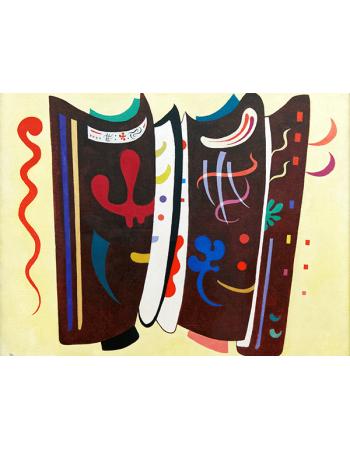 Reprodukcje obrazów Wassily Kandinsky Brown supplemented
