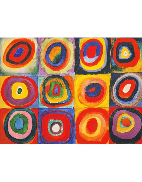 Reprodukcje obrazów Wassily Kandinsky Color Study Quadrate