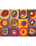 Reprodukcje obrazów Color Study Quadrate - Wassily Kandinsky