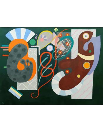 Reprodukcje obrazów Wassily Kandinsky Noeud rouge