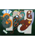 Reprodukcje obrazów Noeud rouge - Wassily Kandinsky