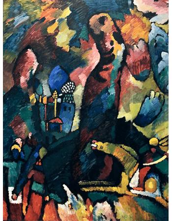 Reprodukcje obrazów Wassily Kandinsky Picture with an Archer