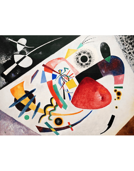 Reprodukcje obrazów Wassily Kandinsky Red Spot II