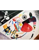 Reprodukcje obrazów Red Spot II - Wassily Kandinsky