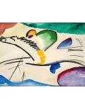 Reprodukcje obrazów The Rider - Wassily Kandinsky