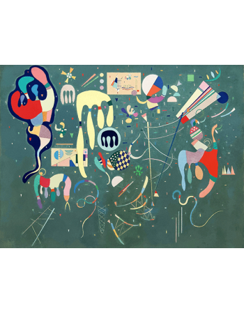 Reprodukcje obrazów Various Actions - Wassily Kandinsky
