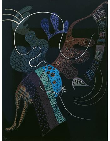Reprodukcje obrazów White line - Wassily Kandinsky