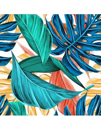 Obraz na płótnie - Kolorowe liście - Jungle - Fedkolor