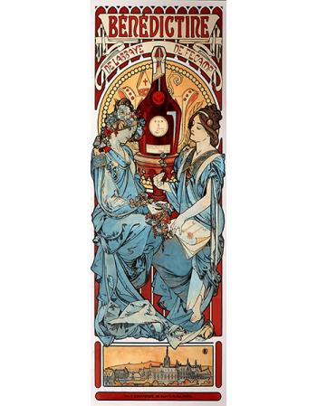 Reprodukcje obrazów Alfons Mucha Benedictine