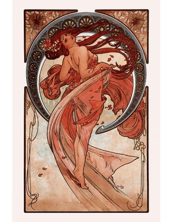 Reprodukcje obrazów Alfons Mucha Dance