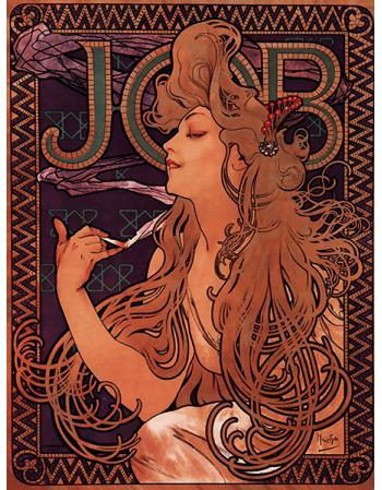Reprodukcje obrazów Alfons Mucha Job