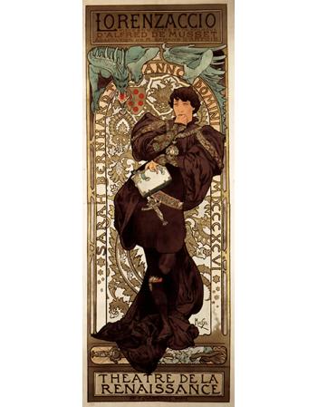 Reprodukcje obrazów Alfons Mucha Lorenzaccio