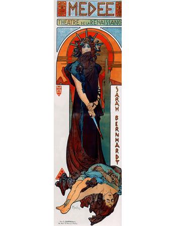 Reprodukcje obrazów Alfons Mucha Medea