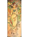 Reprodukcja obrazu Rose - Alfons Mucha