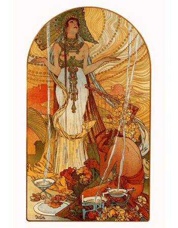 Reprodukcja obrazu Salammbo - Alfons Mucha