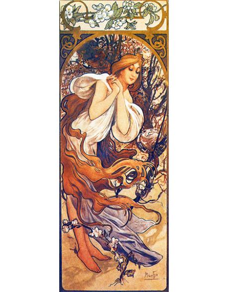 Reprodukcje obrazów Alfons Mucha Spring