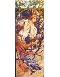 Reprodukcja obrazu Spring - Alfons Mucha