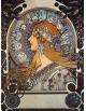 Reprodukcja obrazu Zodiac 1897 - Alfons Mucha