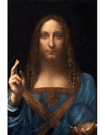 Reprodukcje obrazów Leonardo da Vinci Zbawiciel Świata Salvator Mundi