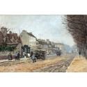 Reprodukcje obrazów Boulevard Héloïse, Argenteuil - Alfred Sisley