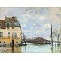 Reprodukcje obrazów Flood at Port-Marly - Alfred Sisley