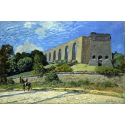 Reprodukcje obrazów Aqueduct at Marly - Alfred Sisley