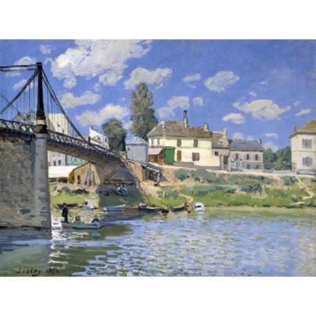 Bridge at Villeneuve-la-Garenne