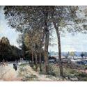 Reprodukcje obrazów La Seine à Marly - Alfred Sisley
