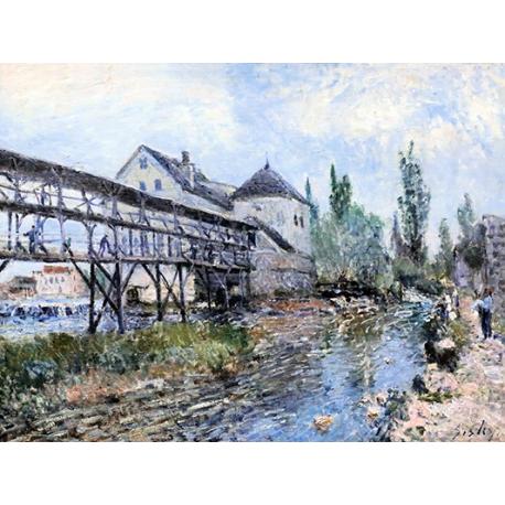 Le moulin de Moret