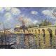 River steamboat and bridge