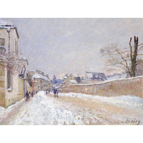 Rue Eugène Moussoir at Moret-Winter