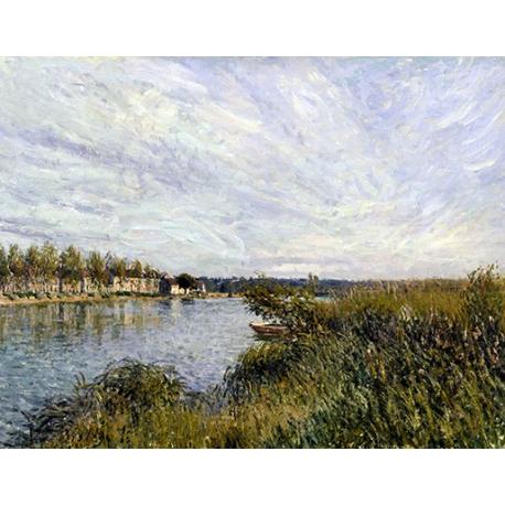 View of Saint-Mammès -Walters