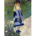 Reprodukcje obrazów A Girl with a Watering Can - Auguste Renoir