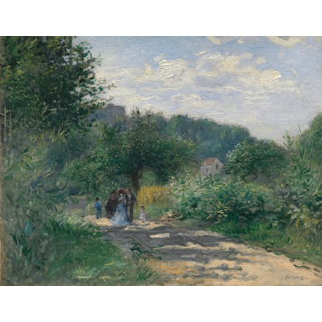 A Road in Louveciennes