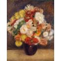 Reprodukcje obrazów Bouquet of Chrysanthemums - Auguste Renoir