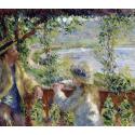 Reprodukcje obrazów By the Water - Auguste Renoir