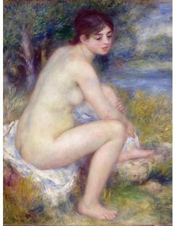 Reprodukcje obrazów Femme Nue dans un Paysage - Auguste Renoir