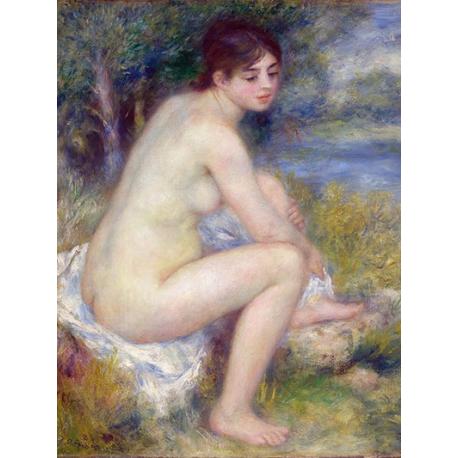 Femme Nue dans un Paysage